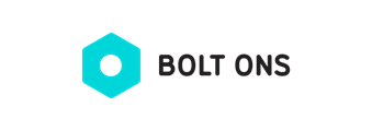 Bolt on logo