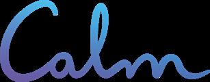 Calm logo app