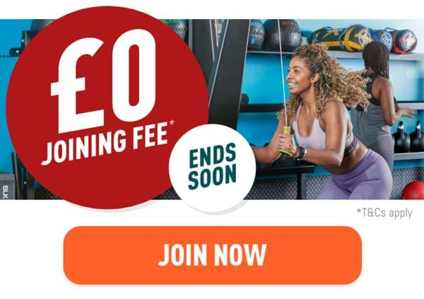 Get £0 Joining Fee for a Limited Time