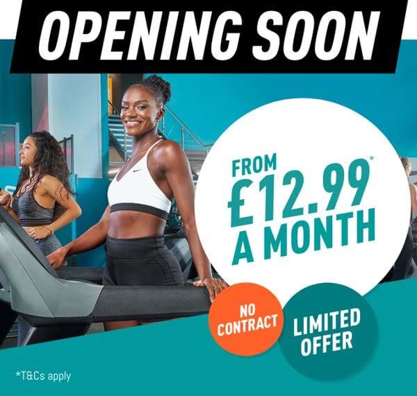 Opening soon - £12.99