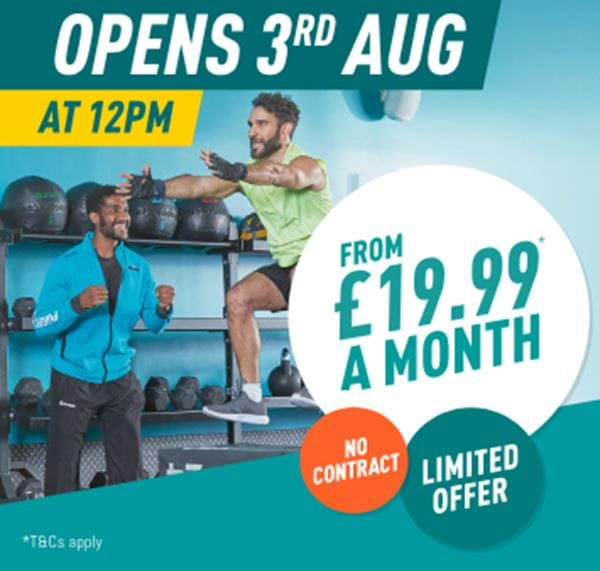 Opens 3rd Aug at 12pm - £19.99 a month - Limited Offer