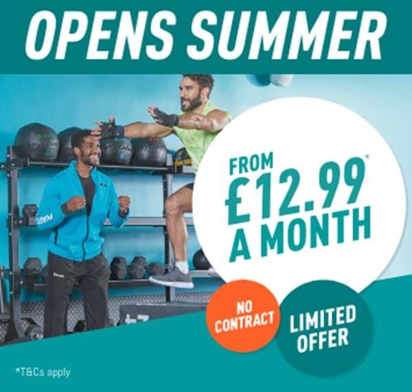 Opens Summer - £12.99