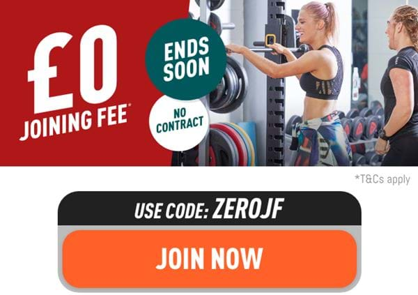 £0 joining fee. Ends soon. T&Cs apply. Join now