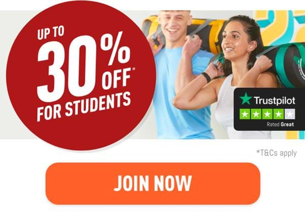 Students! Get up to 30% off memberships