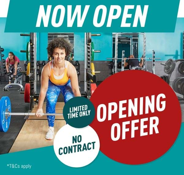 Now Open opening offer